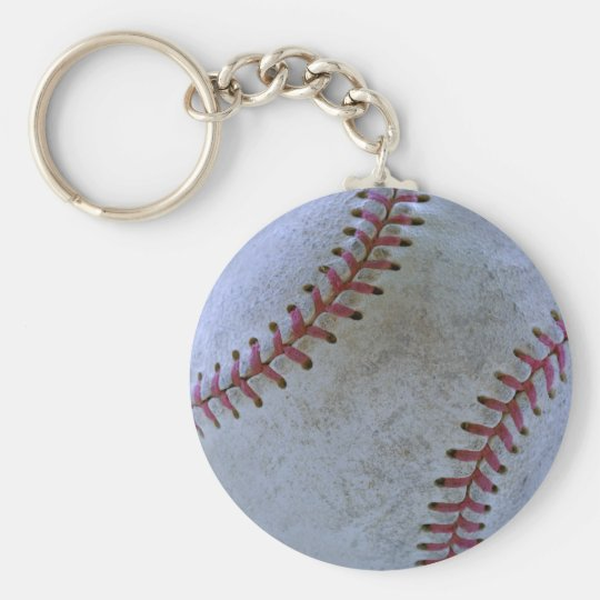Baseball Fan-tastic_Battered Ball Key Ring