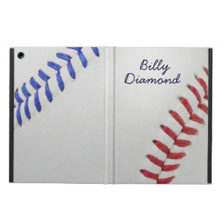 Baseball Fan-tastic_Color Laces_All-American iPad Air Cover