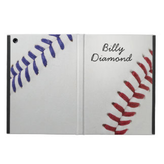 Baseball Fan-tastic_Color Laces_nb_dr_personalized iPad Air Case