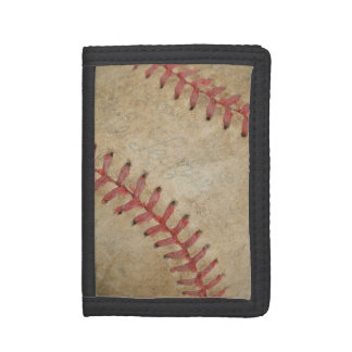 Baseball Fan-tastic_dirty ball _autograph ready Trifold Wallets