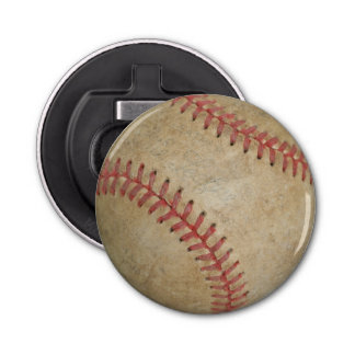 Baseball Fan-tastic_dirty ball_old school Bottle Opener