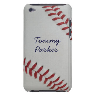 Baseball Fan-tastic pitch perfect autograph-style iPod Touch Cover