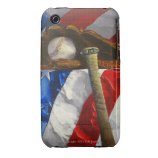 Baseball Fan's phone skin iPhone 3 Cases