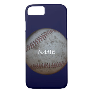 Baseball Fans With Name Blue iPhone 8/7 Case
