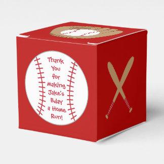 Baseball Favor Box- Home Run Birthday Favour Box