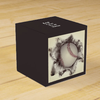 baseball favour box