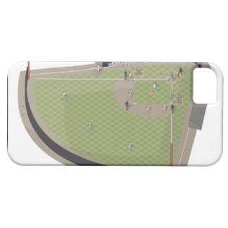 Baseball field barely there iPhone 5 case
