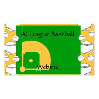 Baseball Field Pack Of Standard Business Cards
