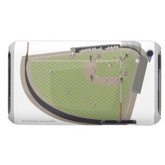 Baseball field iPod touch case