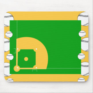 Baseball Field Mouse Mat
