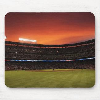 Baseball field mouse pad