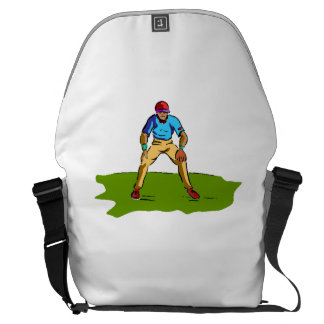 Baseball Fielder Courier Bags