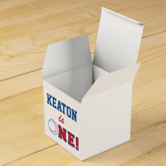 Baseball First Birthday Favor Box Wedding Favour Boxes