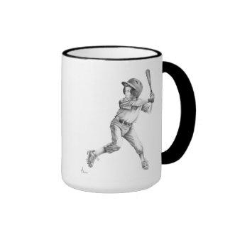 baseball-football mug