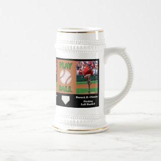Baseball: George W. Bush vs Barack H. Obama Beer Steins