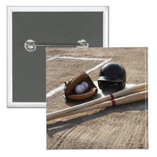Baseball Glove 15 Cm Square Badge
