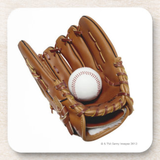 Baseball Glove and Ball Coaster