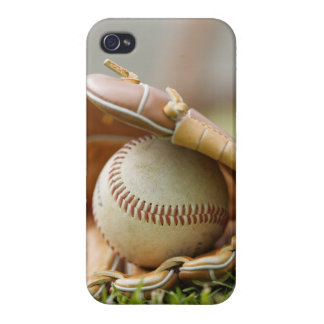 Baseball Glove and Ball Cover For iPhone 4