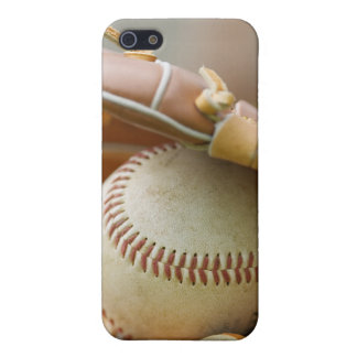 Baseball Glove and Ball IPhone 4 Case