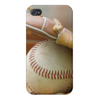 Baseball Glove and Ball IPhone 4 Case