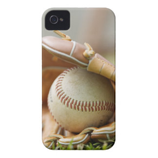 Baseball Glove and Ball iPhone 4 Case-Mate Case