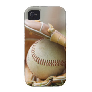 Baseball Glove and Ball iPhone 4 Cases