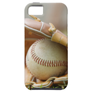Baseball Glove and Ball iPhone 5 Cases