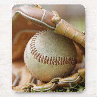 Baseball Glove and Ball Mousepad