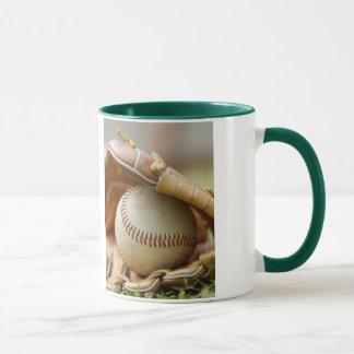 Baseball Glove and Ball Mug
