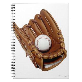 Baseball Glove and Ball Notebook