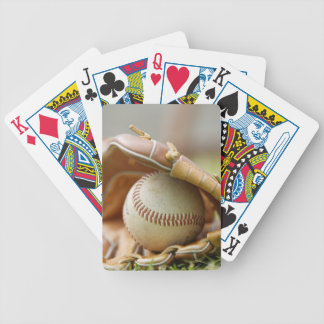 Baseball Glove and Ball Poker Deck