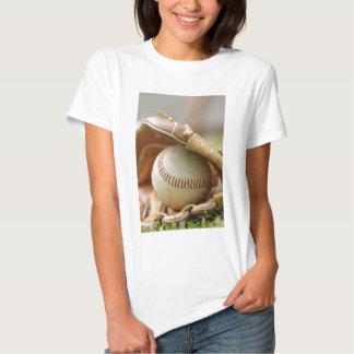 Baseball Glove and Ball Tee Shirts