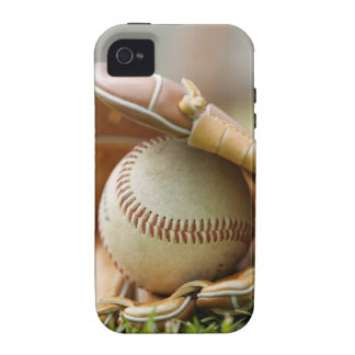Baseball Glove and Ball Vibe iPhone 4 Cover