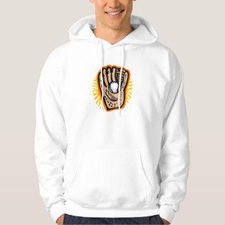 Baseball Glove & Ball Hoodie