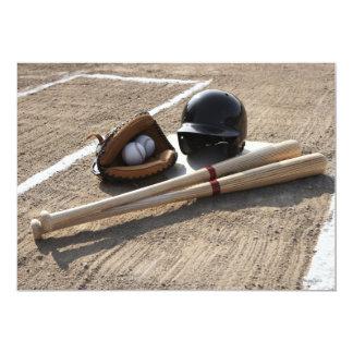 Baseball Glove Card