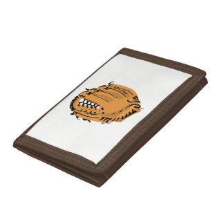 Baseball Glove Tri-fold Wallet