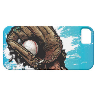 Baseball glove with base ball iPhone 5 covers