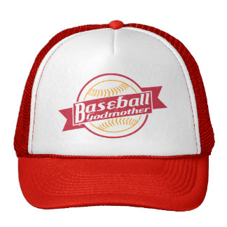 Baseball Godmother Mesh Hat