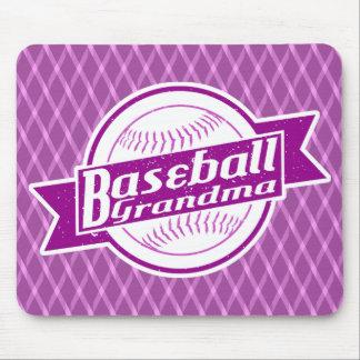 Baseball Grandma Mousemat