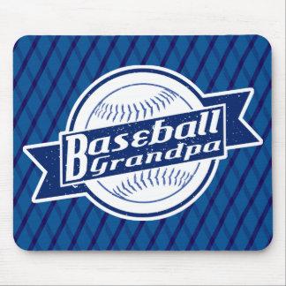 Baseball Grandpa Mousemat