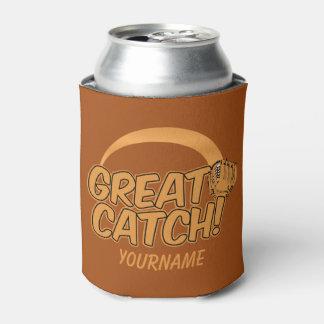 Baseball GREAT CATCH! custom can cooler