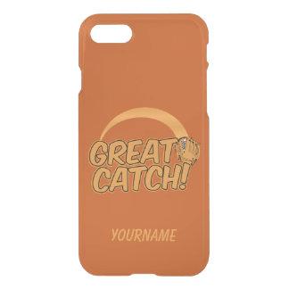 Baseball GREAT CATCH! custom cases