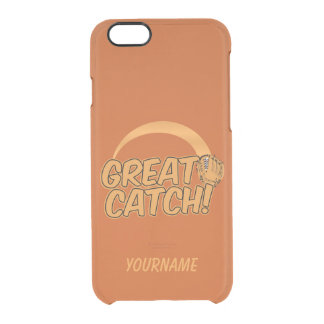 Baseball GREAT CATCH! custom cases
