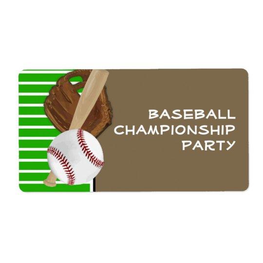 Baseball Green/Brown