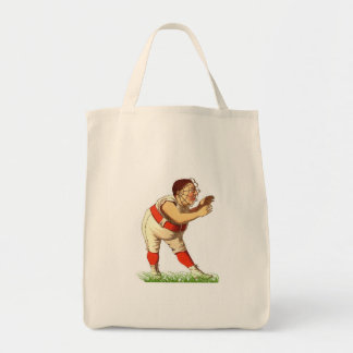 Baseball Grocery Tote