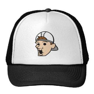 Baseball Head Man Mesh Hats