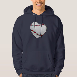 Baseball Heart Hoodie
