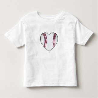 Baseball Heart Toddler T-Shirt