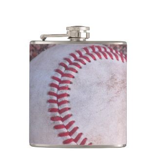 Baseball Hip Flask