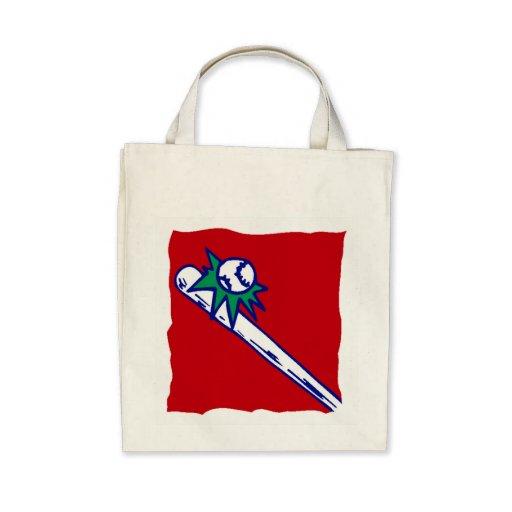 Baseball Hit Tote Bag